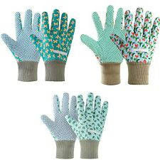 More details for 3 pairs women gardening gloves ladies gardening gloves non-slip grip garden
