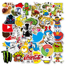 100PC vinyl decal graffiti sticker Cartoon bomb laptop waterproof stickers skate