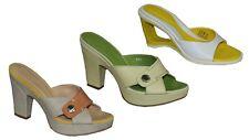Hogan Pantoletten Wedges High Heels Plateau Mules Shoes Schuhe Ausverkauf Neu