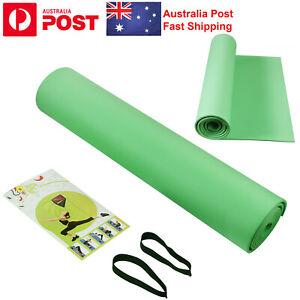 6mm Yoga mat fitness sports environmental protection foam non-slip Pilates Green