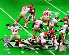 JOE MONTANA Super Bowl XXIV 8X10 ACTION PHOTO SAN FRANCISCO 49ERS
