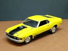 1970 FORD MUSTANG MACH 1 ADULT COLLECTIBLE 1/64 SCALE LIMITED EDITION MUSCLE YLW