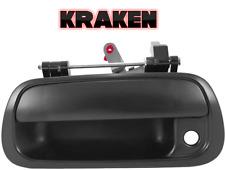 Kraken Tailgate Latch Handle Toyota Tundra 2000-2006 Black Textured With Keyhole