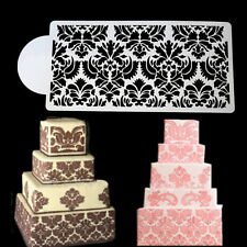 Princess Lace Cake Stencil Set Cake Craft Stencils Cake Border Decor Border D9B
