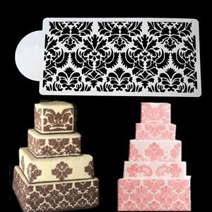 Princess Lace Cake Stencil Set Cake Craft Stencils Cake Border Decorate Bord HF