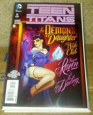 Teen titans 11 bombshells variant