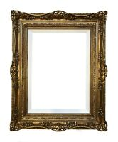 "A pair Of 13"" x 18"" Picture Frames Gilded In Genuine 22k Gold Leaf- Made In USA"