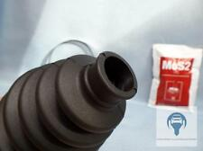 Universal Achsmanschette Faltenbalg Antriebswelle komplett mit Fett und Schellen