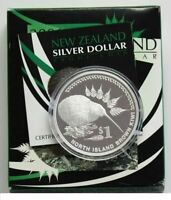 New Zealand - 2006 - Silver Proof Coin-   Brown Kiwi