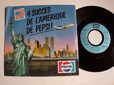 """4 succès de l'Amerique de PEPSI - TINA TURNER V/A 7"""" EP LIMITED EDITION MLGD 050"""