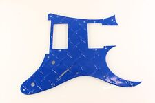 Blue Aluminum Diamond Plate fits Ibanez RG550 Jem RG Guitar Pickguard HXH HH