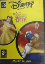 Disney La Belle est la Bête Atelier de Jeux PC