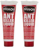 Set De 2 Nippon Fourmi Insecte Killer Liquide 25g Gel Contrôle Détruit Colonies
