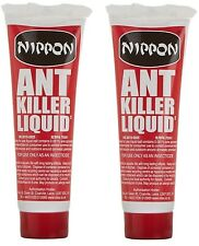 Set of 2 Nippon Ant Insect Killer Liquid 25g Gel Control Ants Destroys Colonies