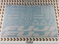 """FUJI Stickers Decals Bicycles Bikes BMX MTB Cycles """"DIFFERENT COLORS"""" 61F"""