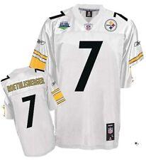 Pittsburgh STEELERS #7 BEN ROETHLISBERGER Jersey MEN SZ 52 X Large SB XLIII