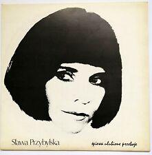 LP  Sława Przybylska śpiewa ulubione przeboje