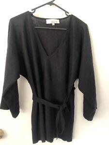 Allude Black Cashmere Jumper XS