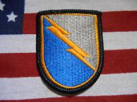 US Army C Troop 38th Cavalry Regiment MI Airborne beret flash patch  m/e
