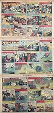WOW! Three SUPERMAN Sunday Comic Strips by Siegel and Schuster FIRST YEAR - 1940