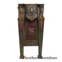 Victorian Mason Masonic Architectural Salvage Cast Iron Theater Seat Freemason C