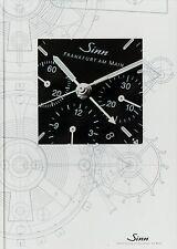 Sinn Uhren Katalogbuch 8/02 2002 2003 Hardcover Katalog Uhrenkatalog watches Uhr