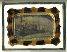 RARE  1/4 PLATE AMBROTYPE / FRAMED