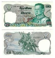 THAILAND 20 BAHT 1981 SIGN 64 UNC P 88