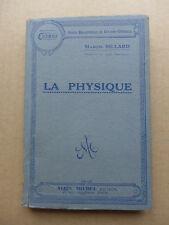 Gaston Billard - La physique  /  sd
