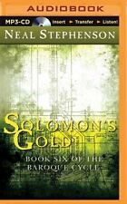 Solomon's Gold : Book Six of the Baroque Cycle by Neal Stephenson (2015, MP3...