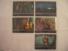 Harry Potter & The Prisoner of Azkaban Promo Card Inc. Non Foil Trading Card Set