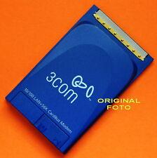 3COM PCMCIA CARDBUS 10/100 LAN CARD + 56K FAX MODEM 3C3FEM656C