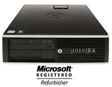 LOT OF 10 HP 6200 Pro 250GB Win 7 Professional Core I5  Quad 3.1GHz 8GB Desktop