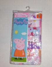 Peppa Pig Cotton Undies 7 Panties Underwear Toddler Girls 2T/3T NIP