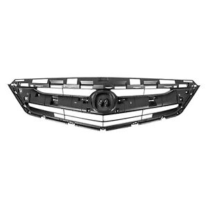 AC1200129 NEW Grille Fits 2016-2017 Acura ILX