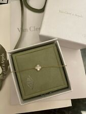 Auth Sweet Alhambra Van Cleef & Arpels Bracelet w Cert Of Auth VCA