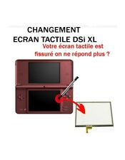 Ecran tactile de remplacement pour Nintendo DSi XL
