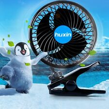 DC 12V Car Vehicle Truck Cooling Air Fan Speed Adjustable Silent Cooler
