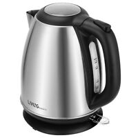LIVINGbasics® Electric Kettle Water Boiler Stainless Steel 1500W 1.7L BPA Free