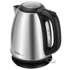 New 1500W 1.7 Liter Electric Kettle Tea Hot Water Boiler Heater Stainless Steel