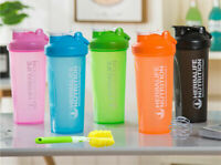 Herbalife Shake Cup Water Bottle Outdoor Nutrition Drinking Plastic 600ml