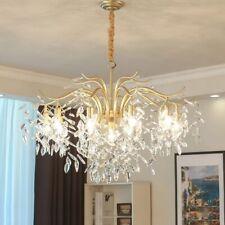 Modern Classic Crystal chandelier lights for Living Room/bedroom gold suspended