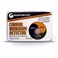 p//n ASA-COD ASA CO2 CARBON MONOXIDE DETECTORS 2 Pack Use on Planes Campers Etc