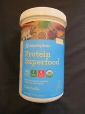 Amazing Grass Protein Superfood All In One Pure Vanilla 12 Oz 11 Servings #N