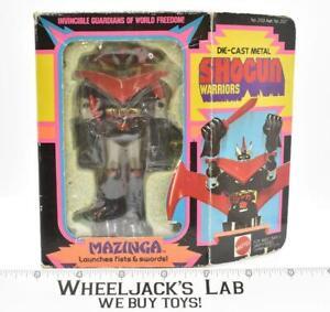 Mazinga W/Box Shogun Warriors Vintage 1977 Mattel Vintage Action Figure