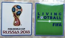FIFA World Cup Russia 2018 Soccer badge for Jersey SHIRT Patch Set