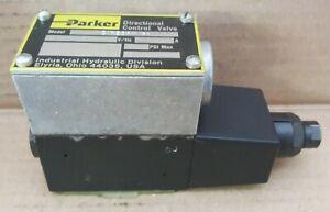 NOS Parker Directional Control Valve D1W20BY-31 2-Position 110/120VAC 3000psi