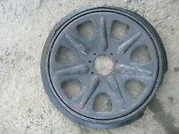 Original WW2 German wheel  for Sd.Kfz. 7