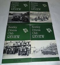 Bentley Drivers Club Review 1980, 4 Issues, 135 Feb, 136 May, 137 Aug, 138 Nov