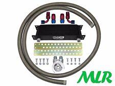 IMPREZA WRX STI TURBO -10 Acciaio Inossidabile Tubo Intrecciato Olio Cooler Kit zqmk-M20
